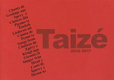 CHANTS DE TAIZE 2016-2017